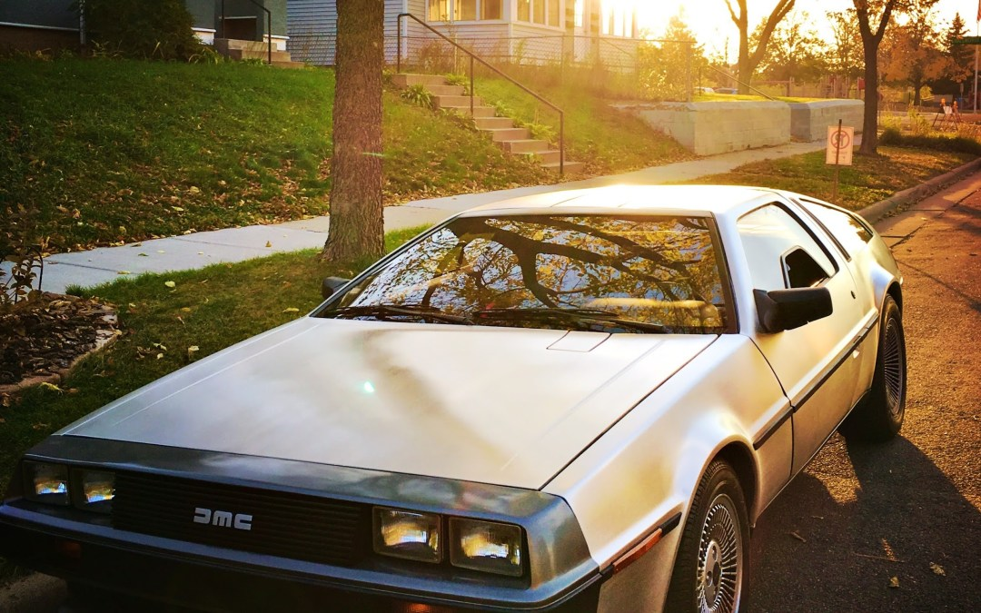 Bucket-list item, check: I drive a DeLorean