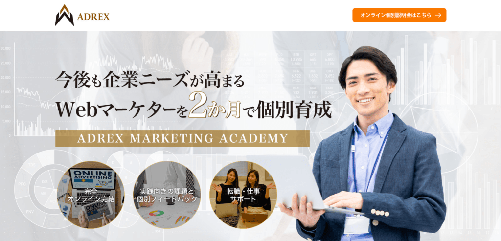 ADREX MARKETING ACADEMY 公式HP