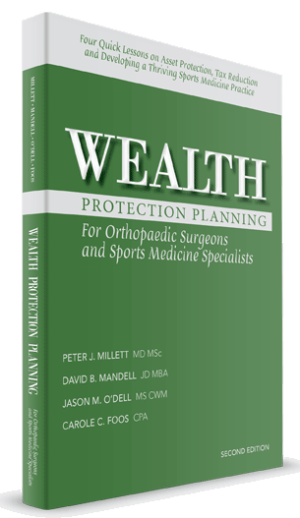 wealth protection planning orthopaedic surgeons cover