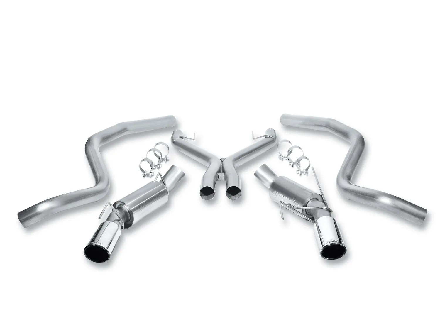 Borla Touring Cat Back Exhaust System For Ford