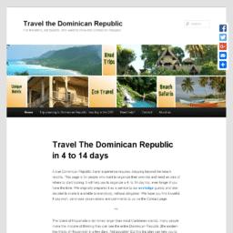 Travel the Dominican Republic