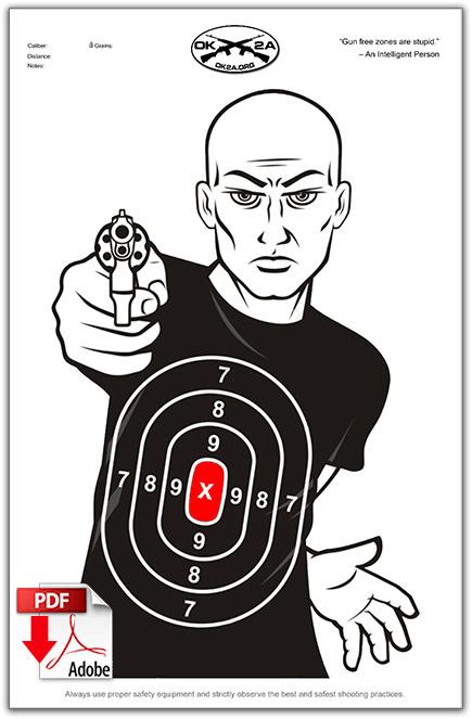 free printable shooting target # 50