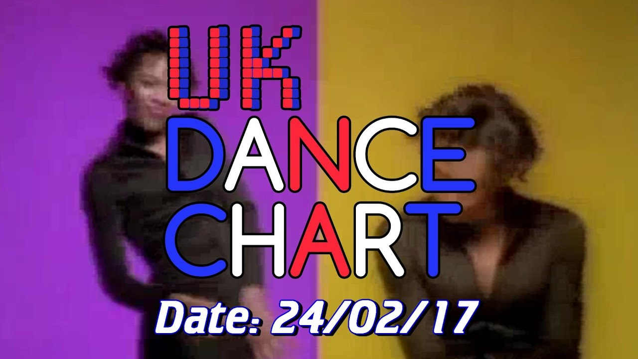UK TOP 40 – Dance Singles Chart + UK Dance Shazam Chart (24/02/2017)