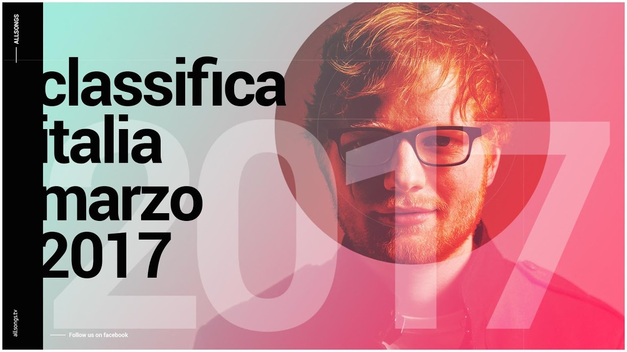 Classifica Canzoni – Top Digital – Italia Marzo 2017