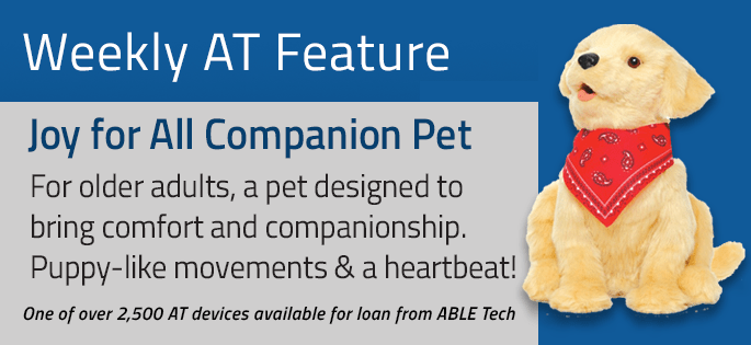 Comfort Pet (Therapy for Adults)