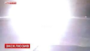 Foto de Site russo publica vídeo que mostra queda de avião em Kazan; veja