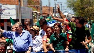 Foto de Eleições 2014: Eunício promete dobrar efetivo do Raio