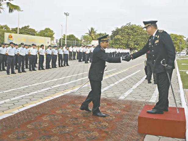 O coronel Ronaldo Viana ocupa o lugar deixado pelo coronel Geovani Pinheiro, que estava há mais de dois anos à frente da PMCE (Foto: Helene Santos/Diário do Nordeste)