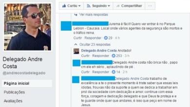 Foto de Internauta desafia, e secretário André Costa sugere nova operação no Ce