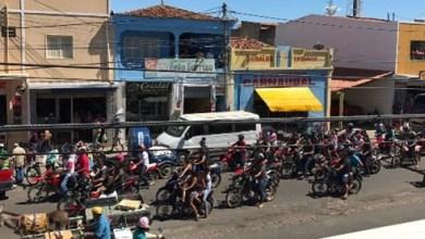 Foto de Servidores protestam contra perdas salariais aprovadas na atual gestão em Icó