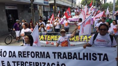 Photo of Reforma Trabalhista: Centrais sindicais protestam em todo o país; confira