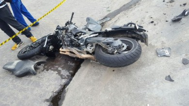 Photo of Penaforte-CE: Moto incendeia ao colidir com Topic na BR 116