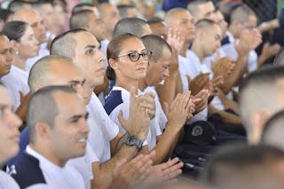 Foto de Ceará: 1.372 homens e mulheres iniciam curso preparatório na PM