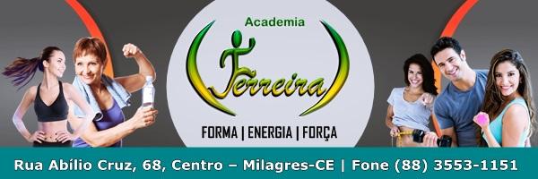 Academia Ferraira Banner Site