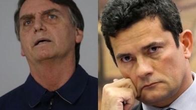 Photo of Datafolha aponta que Moro tem aprovação de 54% e Bolsonaro, 29%; confira apoia