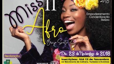Foto de Brejo Santo-CE: Acontece nessa sexta-feira o 2º Miss Afro 2018