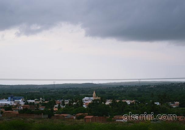 Vista de Milagres em Dia de chuva   Foto: OKariri