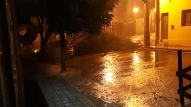 Foto de Porteiras (CE): Chuva e vento forte provocam grandes estragos