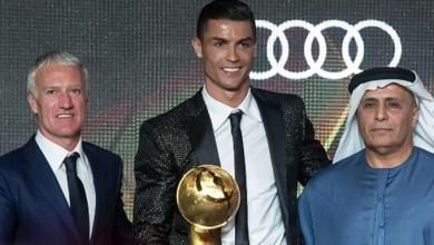 Foto de Cristiano Ronaldo é eleito o melhor jogador de 2018 no Globe Soccer Awards; saiba mais