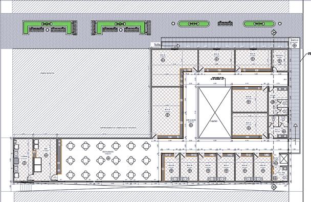 Projeto de como a prefeitura pretende que seja construído o novo mercado | Foto: Divulgação