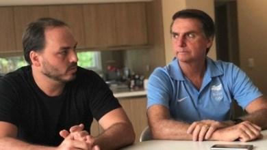 Foto de Bolsonaro diz que vai escalar filho em defesa da nova Previdência