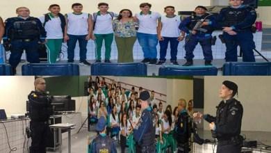 Photo of Milagres (CE): Polícia Militar realiza trabalho preventivo em escolas da rede pública