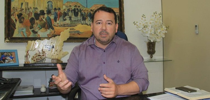 Ex-prefeito de Tauá, Carlos Windson / Foto: de HB