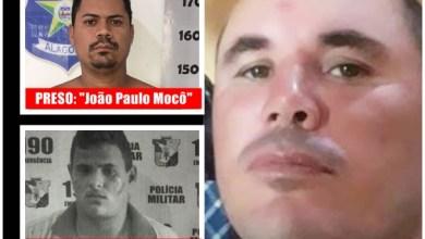 João Paulo dos Santos Nunes, conhecido como 'João Paulo Mocô', foi preso na manhã deste sábado, 16, outro suspeito conseguiu escapar. | Foto reprodução Portal Ítalo Timóteo