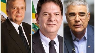 Na sequencia, Senadores cearenses Cid Gomes, Tasso Jereissati e Eduardo Girão | Imagens: Google