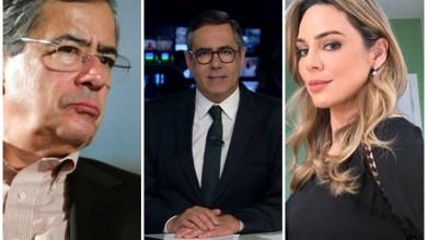 Na sequenia, Paulo Henrique Amorim e Raquel Sheherazade e Fabio Pannunzio  Imagens google