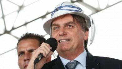 Bolsonaro discursou com chapéu de vaqueiro | foto: Alan Santos / PR