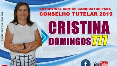 Photo of CRISTINA DOMINGOS – Nº 777: 3ª entrevista com candidatos para o Conselho Tutelar em Milagres – CE (2019).