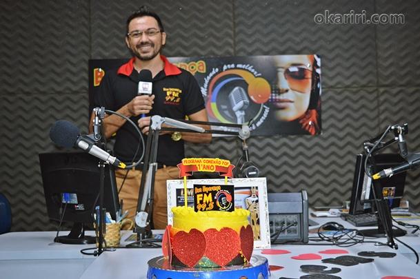 Roberlandio Nunes, Locutor do Conexão Pop E Redator do Portal OKariri