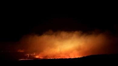 Photo of Barro-Ce: Incêndio no Sítio Fazenda Nova, antiga área de cerrado; veja vídeo