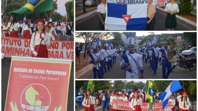 Photo of Porteiras – Ce: Banda Marcial de Milagres e Clube de Desbravadores fazem apresentações nas comemorações do Município no Dia da Independência