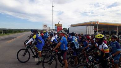 "Photo of Barro-Ce: uma média de 200 ciclistas participaram do ""3º Desafio de ciclismo"""
