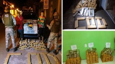 Foto de Milagres-CE: dupla é presa com 137 quilos de maconha transportada dentro de caminhão; saiba mais