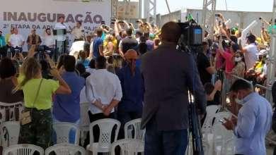 Foto de No Nordeste, Bolsonaro pede votos em 'quem tenha Deus no coração' e repete lema do integralismo