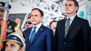 """Foto de """"Se o absurdo já era grande, agora beira a situação criminal""""  diz Doria ao Bolsonaro vetar compra da vacina"""