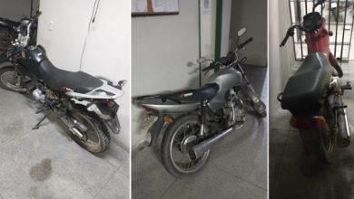 Foto de Milagres-Ce: Polícia recupera no bairro Habitat três motos furtadas no município; saiba mais