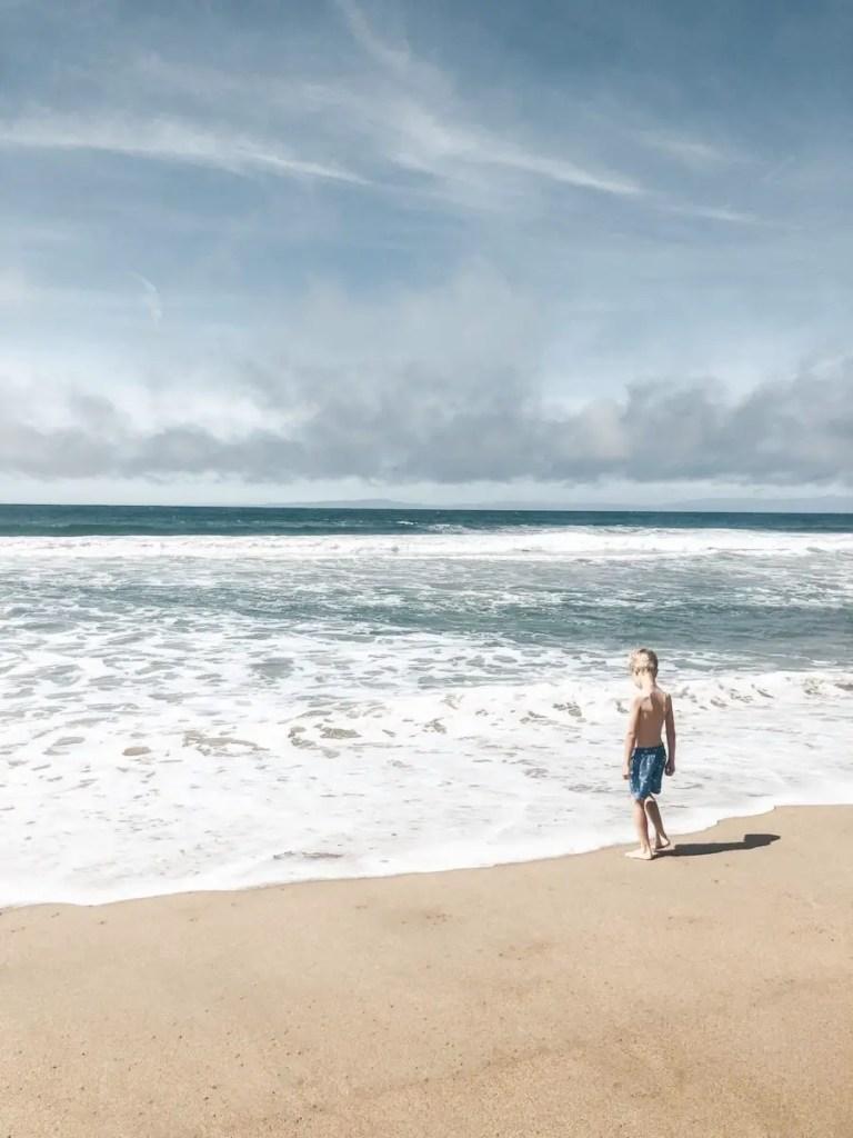 beach in Monterey, CA