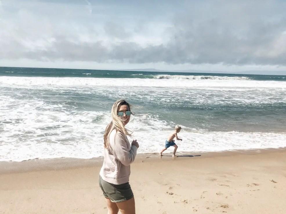 beach at Monterey Tides Okayest Moms