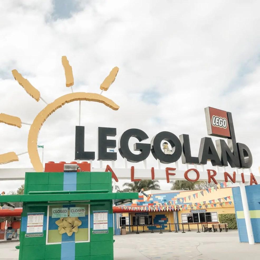 Entrance of Legoland California
