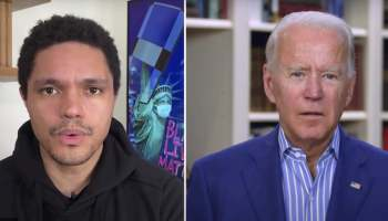 Joe Biden Trevor Noah The Daily Show