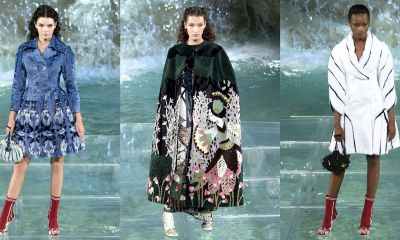 According to Dior Couture, this taboo fashion accessory is back