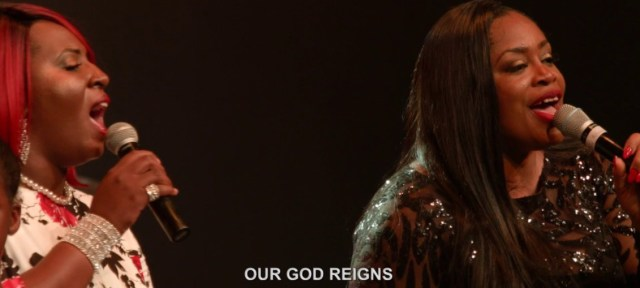He Reigns By Sinach FtMarlea G, Cyude and the I C Children