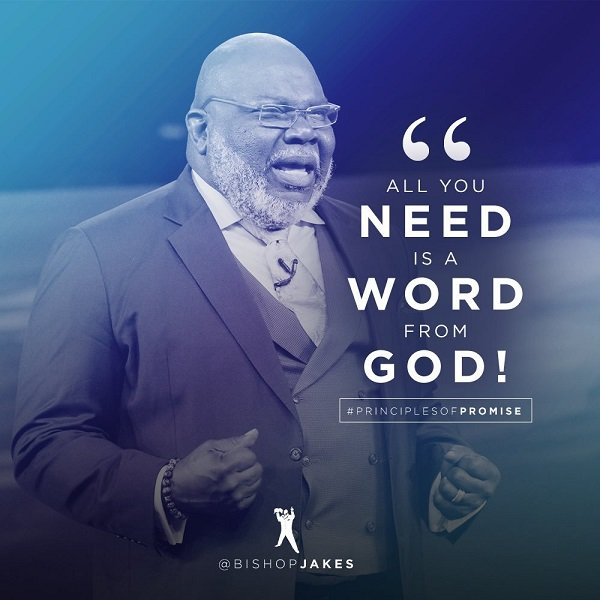 Download T D Jakes – ALL YOU NEED IS A WORD FROM GOD
