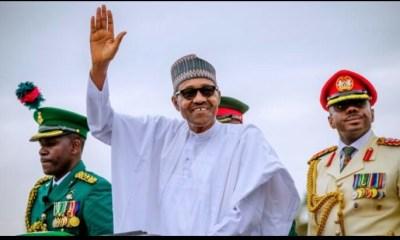 "Presidential Tribunal:""I had no worries""- Buhari reacts."