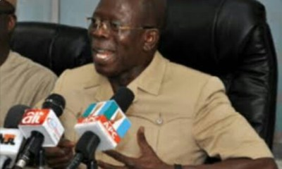 Oshiomhole to APC Governors: Implement N30,000 Minimum Wage