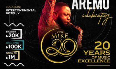 MIKE AREMU concert
